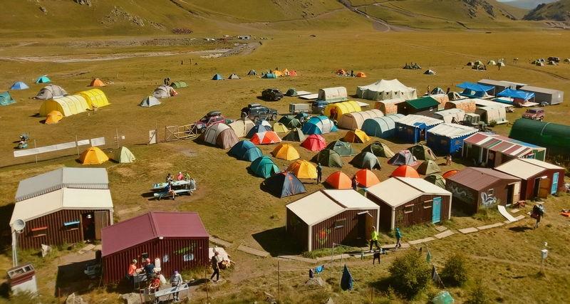 Базовый лагерь Эльбрус север