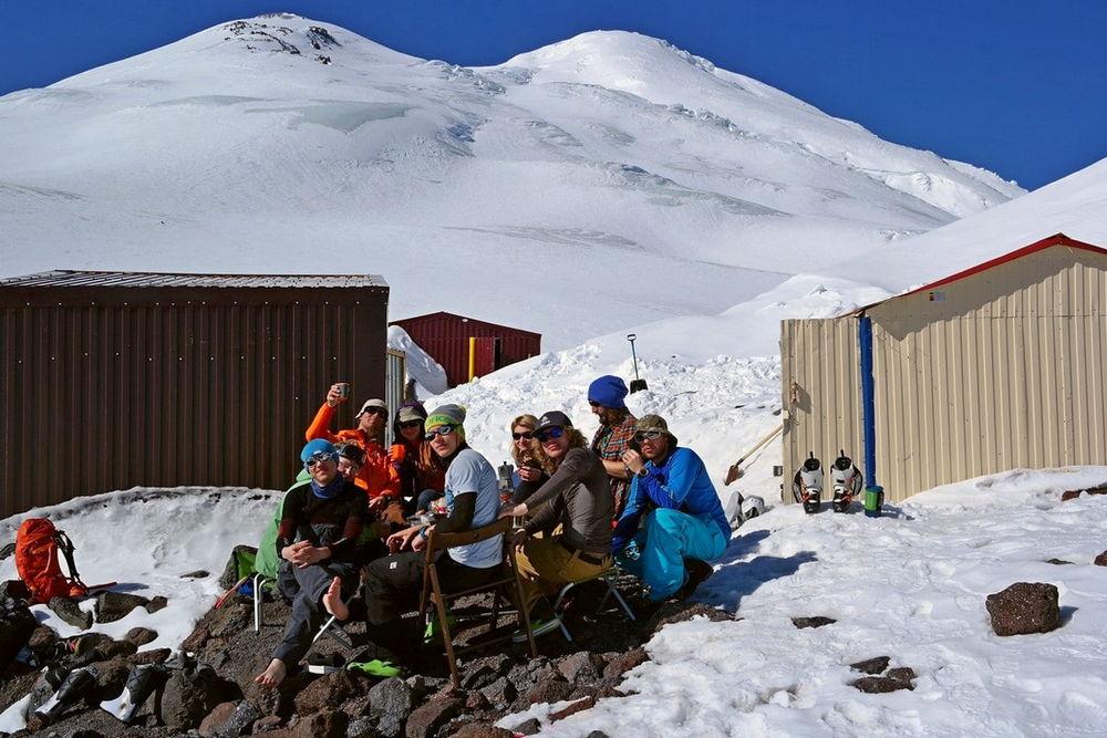 Северный приют на Эльбрусе
