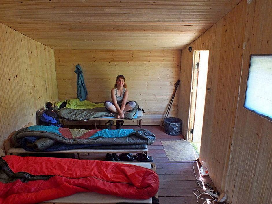 лагерь на севере Эльбруса