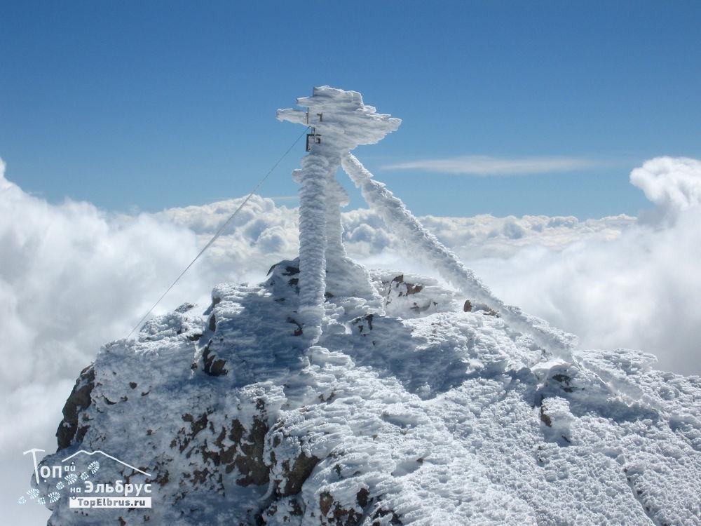 Северная макушка восточной вершины Эльбруса